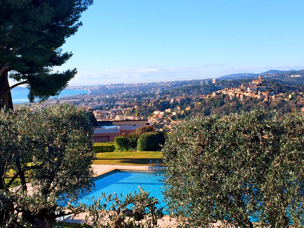 Vente maison villas et villas cagnes sur mer cros de for Piscine cagnes sur mer